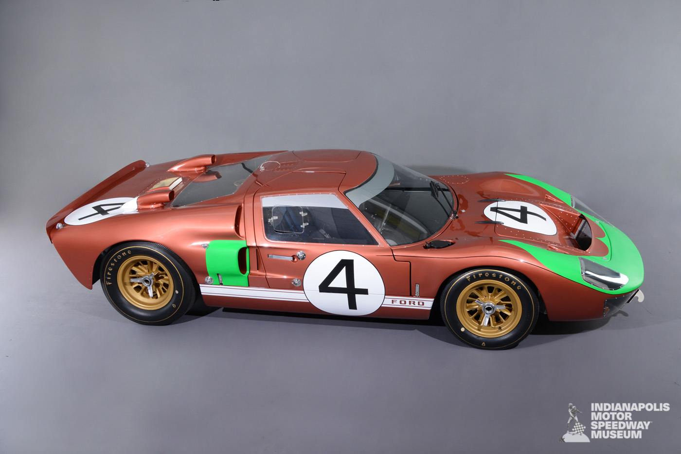 Featured Exhibit Ford Gt40 Mk Ii Indianapolis Motor Speedway Museum