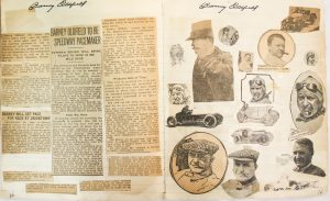 Example from the Museum's scrapbook collection