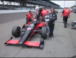 Kelly preparing for her first two-seater Indy car ride